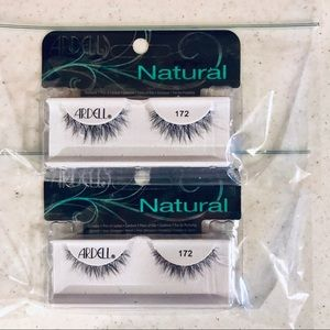 Ardell Natural Lash 172 Black, Set of 2, NIB